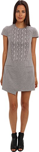 tibi Women's Elsa Short Sleeve Dress