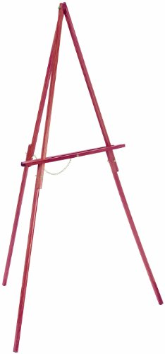 Loew-Cornell Wood Floor Easel, Stained