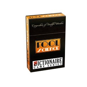 Fool Science Compendium of Scientific Wonders Fictionaire Card Game Series