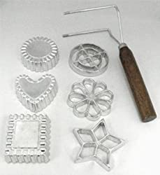 Fox Run Rosette & Timbale Set - Aluminum