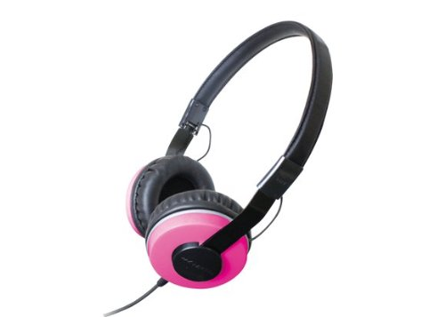 Zumreed Zhp-500 Compact Foldable Stereo Headphones, Pink