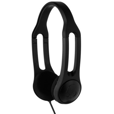 Skullcandy Icon 3 With Taptech Mic Premium Wired Headphone - Black / One Size