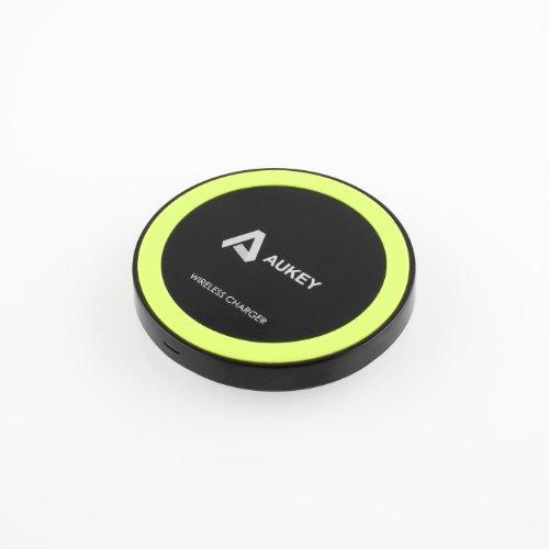 Aukey Wireless Charger Charging Pad Station Qi-Enabled For Nexus 6, Motorola Droid Turbo, Moto 360 Smart Watch ,Google Nexus 4 / 5 / 7(2013);Nokia Lumia 920, 928, 1020; Lg Optimus Vu2, D1L, Lte2, G2; Htc 8X, Droid Dna; Moto Droid Maxx/Droid Mini; Blackber