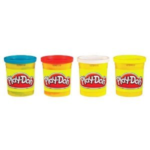 Hasbro Hasbro Play-Doh 4-Count Colors May Vary (Pack of 3)
