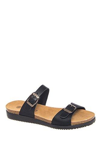 Natalie Casual Flat Slide Sandal