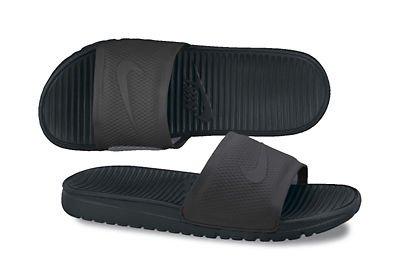 Nike Benassi Solarsoft Slide - Black / Black-Dark Grey, 10 D Us