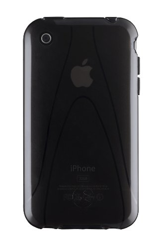 SwitchEasy Vulcan Hydro Polymer Jelly Case for iPhone 3G / 3GS  Black
