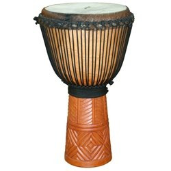 X8 Drums Diamond Professional Djembe, Large