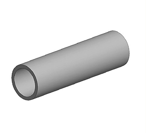 Round Brass Tube, 7 mm x .45 mm (2) - 1