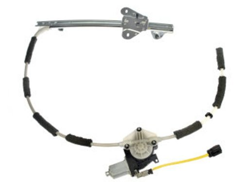 Dorman 741-768 Front Driver Side Replacement Power Window Regulator with Motor for Jeep Cherokee