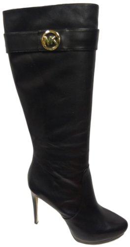 Michael Kors Caroline Tall Boot Leather Black, 10