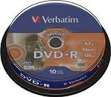 Verbatim LightScribe - 10 x DVD-R - 4.7 GB ( 120 Min. ) 16x