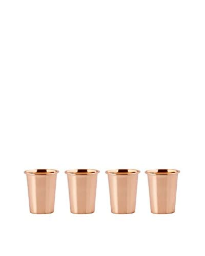 Old Dutch Set of 4 Flared 12-Oz. Copper Tumblers