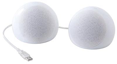 SANWA SUPPLY MM-SPU2WH USBスピーカー ホワイト