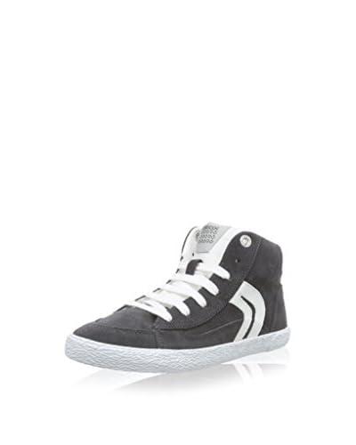 Geox Sneaker Jr Kiwi Boy [Grigio Scuro/Bianco]