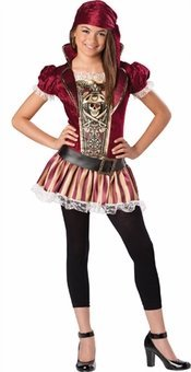 Swashbucklin' Sass - Tween Costume - Size Medium 10-12 - 18022