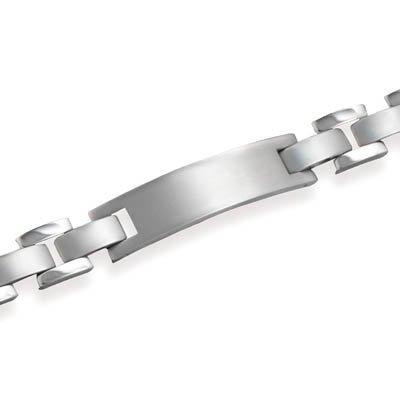 Men's Titanium ID Bracelet, 8 1/4 inch long, 7/16 inch wide
