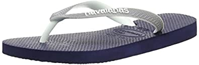 Havaianas Unisex-Kids Top Mix Flip Flops Blue/Grey/White 1/2 UK (35/36 EU)