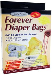 Ddi - Handy Trends 14 Pack Forever Diaper Bags (1 pack of 12 items)
