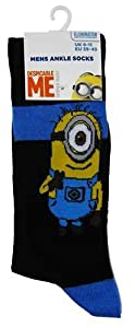 Mens Despicable Me Minions Socks (Stuart)