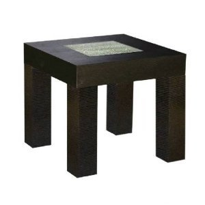 Image of Diamond Sofa Modern Square End Table (B005JDDVM2)