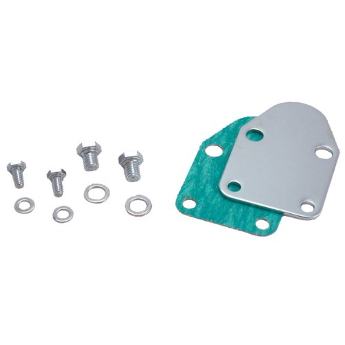 Spectre Performance 42463 Fuel Pump Block-Off Plate with Bolts for Small Block Chevy (1980 Chevy Trucks compare prices)