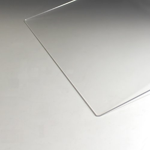 アクリル板 (押出し) 透明 - 板厚 (2mm) 600mm × 450mm