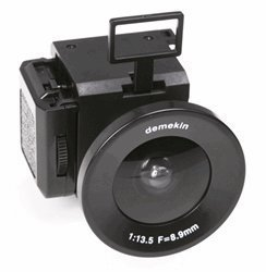 Superheadz Demekin Fisheye 110 Film Camera by Powershovel [並行輸入品]