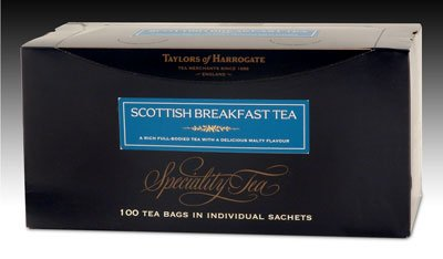 Taylors of Harrogate Scottish Breakfast Tea - String and Tag 100ct.