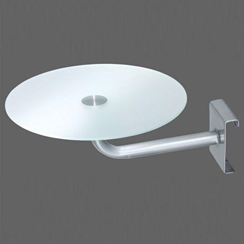 nachttisch zum einh ngen glas f r metallbetten pharao24. Black Bedroom Furniture Sets. Home Design Ideas