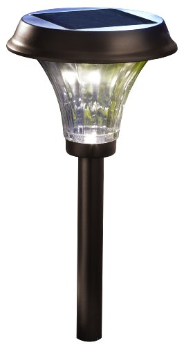 Moonrays 91754 Richmond Solar LED Metal Path Light, Rubbed Bronze (Pack of 2) (Led Path Lights Solar compare prices)