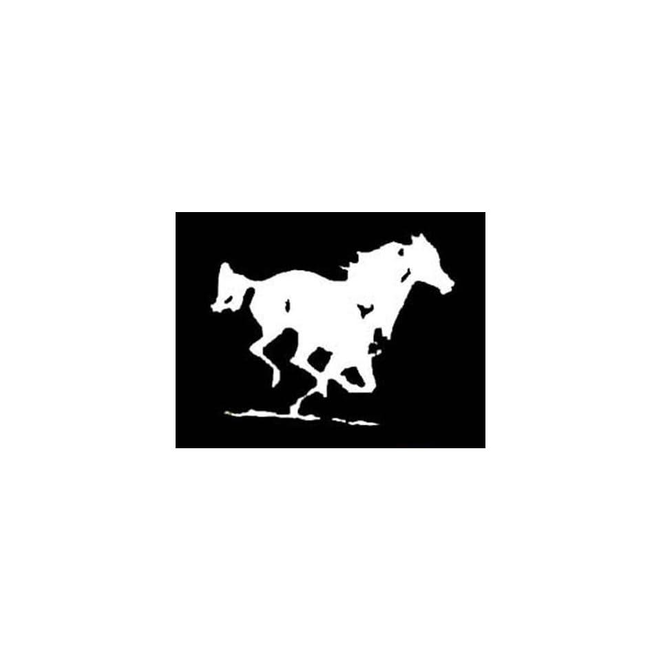 WILD HORSE RUNNING Vinyl Sticker/Decal (Equestrian) ON SALE TODAY
