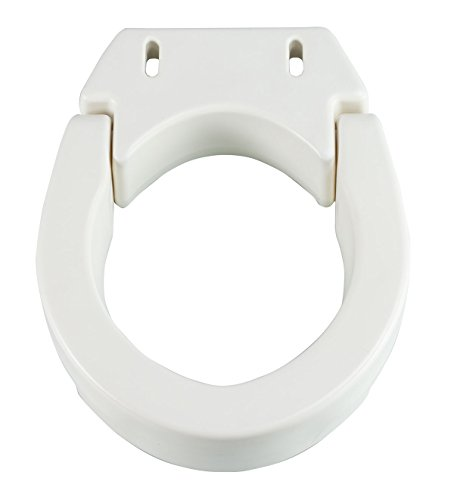 Hinged Toilet Seat Riser (Easycomforts Toilet Seat Risers compare prices)