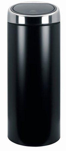 Brabantia Touch Bin, 30 Litre, Matt Black