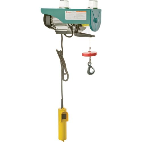 Grizzly H0778 Electric Hoist, 3/4 Hp 110-volt image