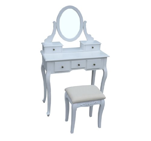 Shabby chic furniture antique style shabby chic dressing for Cheap dressing table with mirror