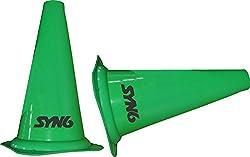Syn6 Unisex Plastic Cones - 12 inch, multi (Set of 6)