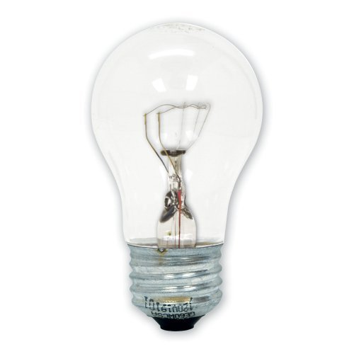general electric ge 15206 12 40 watt appliance light a15 light bulb. Black Bedroom Furniture Sets. Home Design Ideas