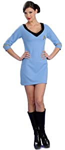 Star Trek Secret Wishes Blue Dress Size X-Small