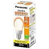 パナソニック 電球形蛍光灯 A15形・電球色Panasonic パルックボール EFA12EL