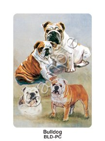 Best Friends Playing Cards, by Ruth Maystead - Bulldog - 1