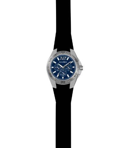 33e63d24deaf Haurex Italy 3A384UBB - Reloj analógico de cuarzo para hombre con correa de  caucho