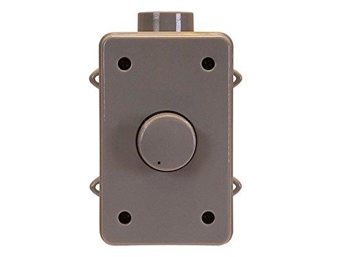 Monoprice 108236 Rms 75W Outdoor Speaker Volume Controller, Gray