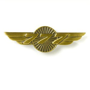 Awarded to Pilots who are promoted to Captain 777 & have completed 250 hours