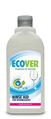 Pack of 3 Ecover Dishwasher Rinse Aid- 500ml.