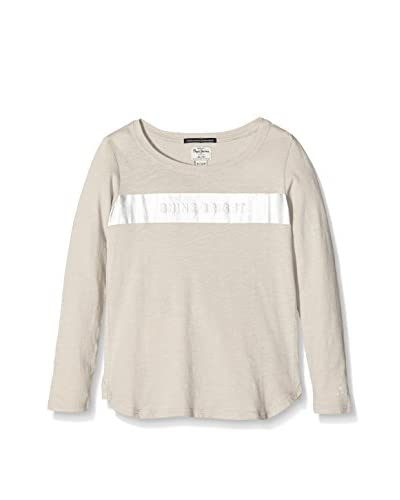 Pepe Jeans London Camiseta Manga Larga Cina Gris Claro