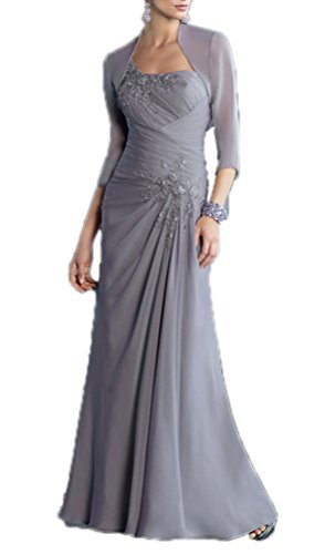 CCHAPPINESS Women's Chiffon Mother of the Bride Dress
