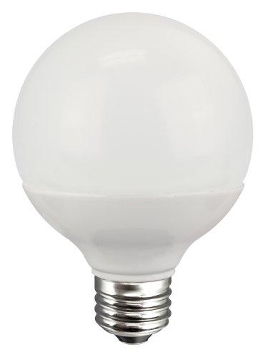 TCP RLG25527KND LED G25 – 40 Watt Equivalent (5W) Soft White (2700K) Non-Dimmable Light Bulb