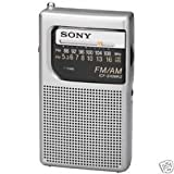 Brand New!! Sony ICF-S10MK2 (ICFS10MK2) Silver Pocket Analog AM/FM Radio w/ Headphone Output NEW Model! Brand NEW In Box w/ Warranty!