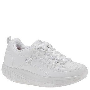 Skechers Work Women's Shape Ups X Wear – Register Oxford – 9M White